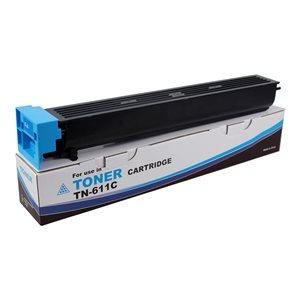 Konica Minolta TN-611C Toner W / Chip 270003