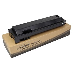 SHARP Toner MX-500NT W / Chip (USA) 40K