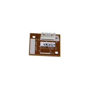 Bizhub C452 / C552 / C652 Jaune Image Unit Chip 120K