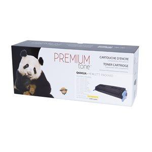 HP LJ 1600 / 2600 / 2605 Q6002A Reman Jaune Premium Tone