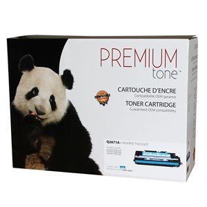HP 3500 / 3550 Q2671A Reman Cyan Premium Tone 4K