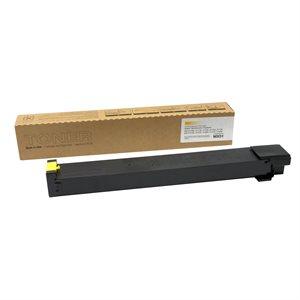 Sharp MX-4110 / 5110 MX-51NTYA Compatible Yellow 18K