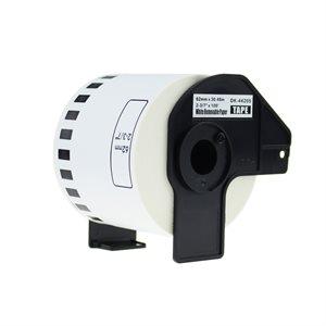 Brother DK-4205-Papier continu BLANC 62mm*30.48m compatible