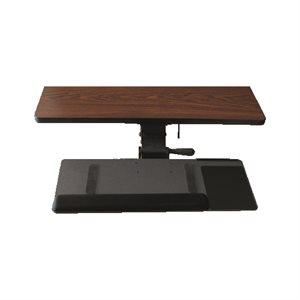 Keyboard tray Kit Right Hand Ideal rail 17''
