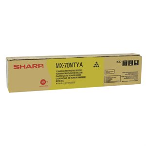 OEM Yellow Toner (MX-70NT) MX5500 / 6200 / 7000