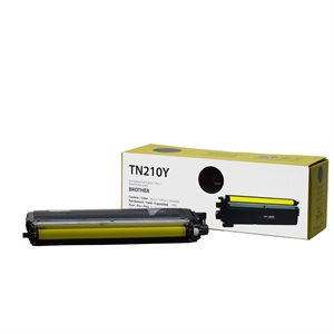 Brother TN210 Compatible Jaune Premium Tone 1.4K