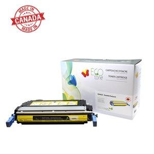 HP CB402A Reman Ecotone Jaune 7.5K