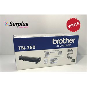 Brother TN760 OEM Toner (Grade 1) 3K