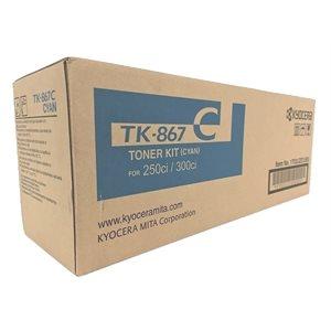OEM Cyan Toner (TK-867C) TASKalpha 250ci