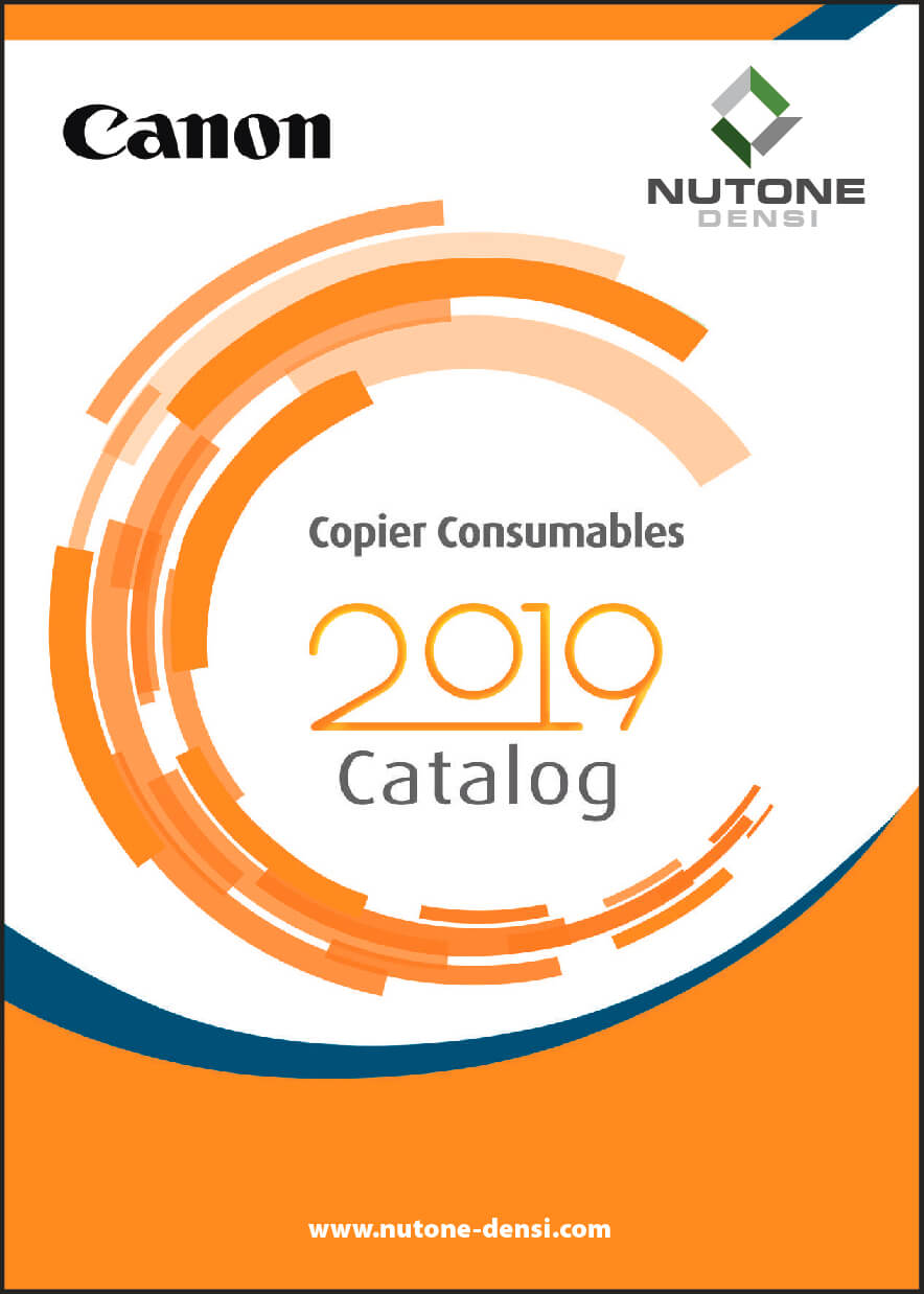 Copier Consumables Catalog Cover Canon_