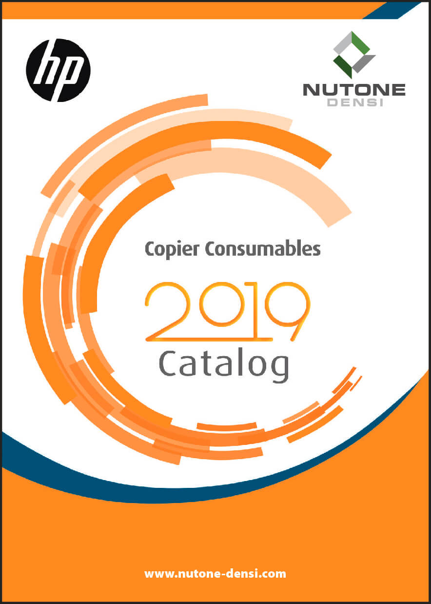 Copier Consumables Catalog Cover HP