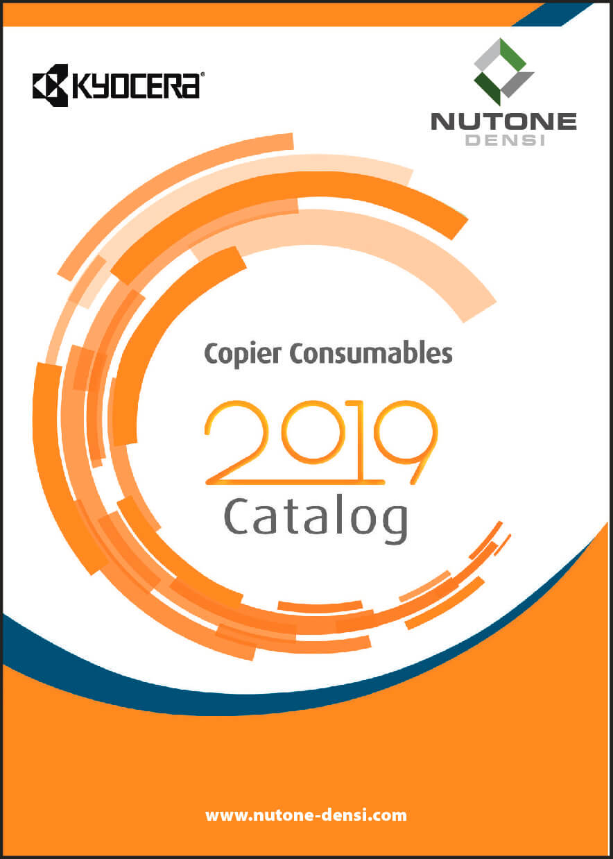Copier Consumables Catalog Cover KYOCERA