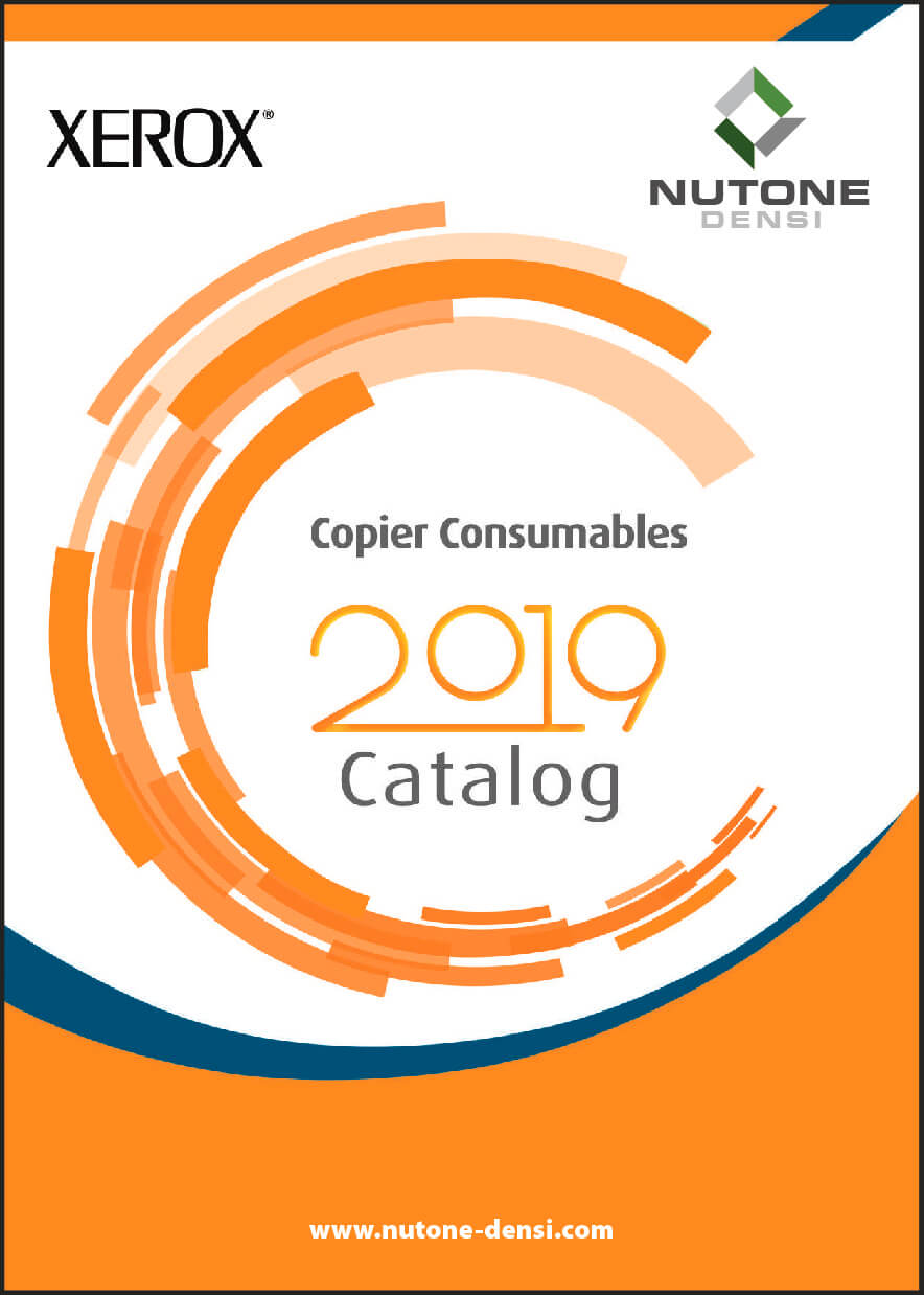 Copier Consumables Catalog Cover XEROX