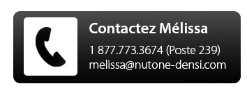contactez melissa